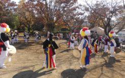 韓国全羅北道農楽グループ「ナグネの会」の演舞