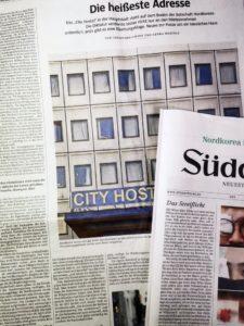 ドイツの新聞にNord Koreaの大見出し