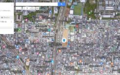 ロッテ新宿工場跡地(2019年8月8日キャプション)