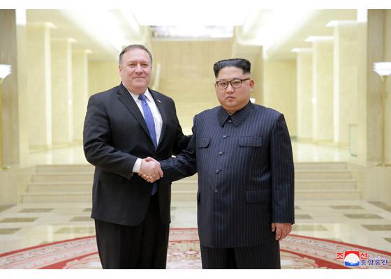 金正恩労働党委員長とポンペオ米国務長官が会談