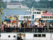 北朝鮮遊覧船2005年と19年を比較して感じる変化 中朝国境の鴨緑江