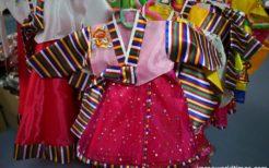 北朝鮮の子ども服