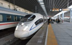 丹東と大連を結ぶ高速鉄道