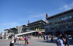 吉林省長春駅・旧満州国首都の新京駅