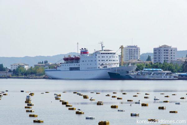 大型旅客船や浚渫機材は用意してほしい