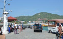 シーチャン島で見かけたアジア系外国人は韓国人が圧倒的に多い印象だった
