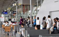 インバウンドの外国人が増えた関西国際空港