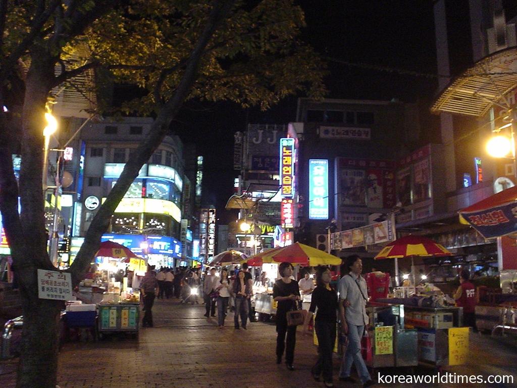 釜山で美人アガシを連れ出しオールナイトエンジョイ ワノルドンの置屋