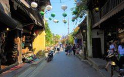 ベトナム中部の古都ホイアン。江戸時代にここに渡って来た日本人もいるが、その時代は特に外国語を話せる人が少なかっただろう
