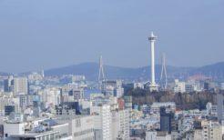 釜山広域市の街並み
