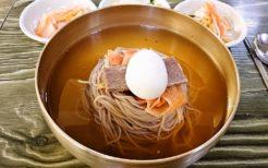トンムパプサンの平壌冷麺