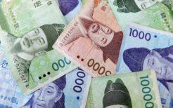 韓国通貨ウォンの紙幣