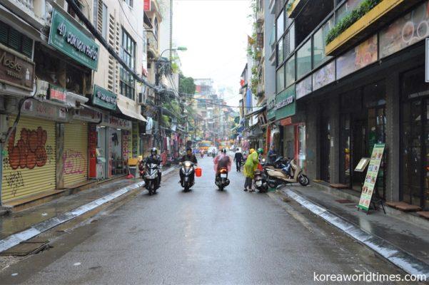 サムスンのスマホ生産拠点。ベトナム経済は韓国企業から大きな影響を受けている