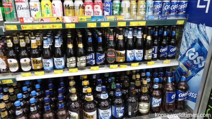 韓国へのビール輸出がほぼ0%