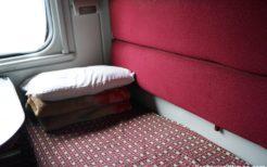ロシア・モスクワ行き国際列車
