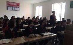 平壌の初級中学校