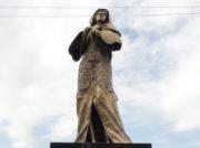 """フィリピンで設置が続く慰安婦像 """"韓国式""""少女像も設置されるも2日で撤去(1/2)"""