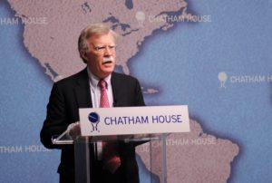 ボルトン回顧録で米国の外交機密を暴露