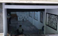 平壌館時代は壁で塞いでいた地下スペースはカフェにリバイバル中