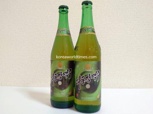 大同江ビールと米を物々交換?