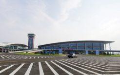 近年リニューアルした元山空港(葛麻空港)