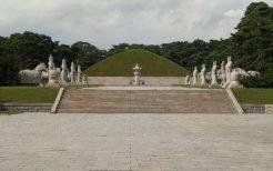 世界遺産・東明王陵