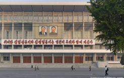 北朝鮮・平壌市内