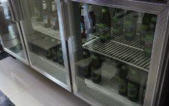 平壌のスーパービールコーナー