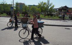 北朝鮮・開城市街地