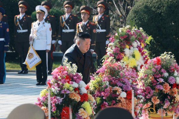 金正恩委員長が中国人民志願軍烈士陵園を訪問