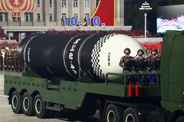 新型SLBM「北極星4型」登場