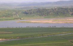 2006年撮影の鴨緑江