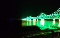 中朝を結ぶ中朝友誼橋