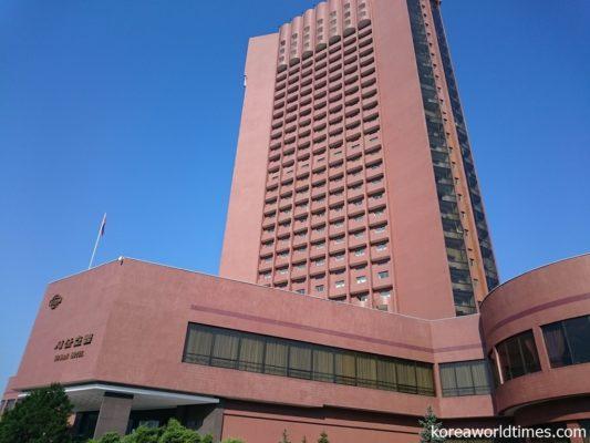 平壌の5つのホテルへ部分改修が指示される