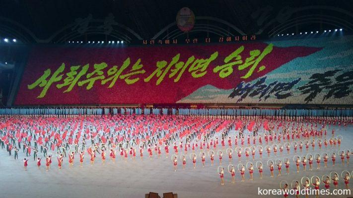 軍事パレードとミサイル発射に注目が集まる