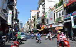 トナム・ホーチミンの安宿街は、夜になると在住韓国人が飲みにやってくるエリアでもある