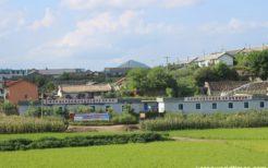 平壌校外の風景