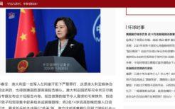 中国外務省スポークスマン華春瑩氏