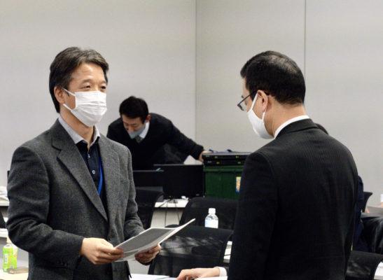 11月30日朝鮮大学生や識者らが文科省へ要請