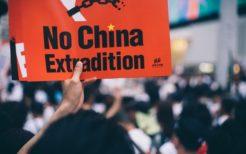 「逃亡犯条例」改正案に抗議する香港の人々
