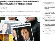 中国による報復スパイ拘束続くカナダ人 カナダ政府が収容状況明かす