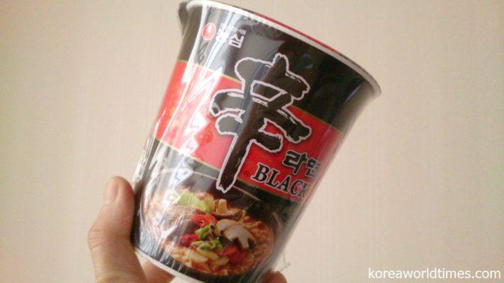 中国市場へ依存度が高い韓国のカップ麺