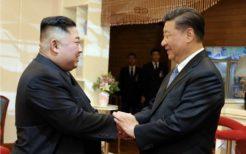 金正恩委員長(当時)と習近平国家主席が平壌会談(2019年)