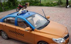 北朝鮮・羅先のタクシー