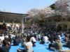 高須院長 靖国神社奉納プロレスへ台湾パイン奉納 2千人超が観戦