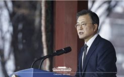 3月1日、「三・一独立運動」記念式典で演説を行った文在寅大統領