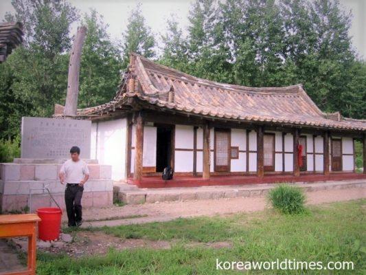 韓国の民間団体支援で生家を復元