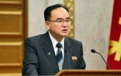 2021年2月の党中央委員会総会に出席した趙甬元氏