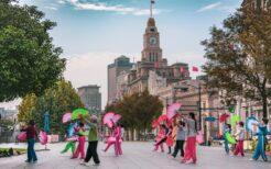 上海・広場ダンス