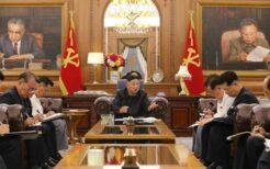 平壌で開催された党の協議会での金正恩総書記